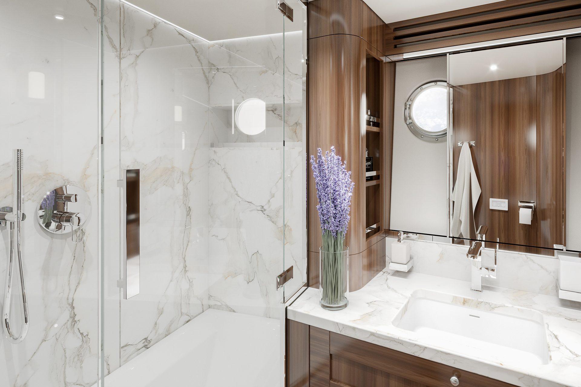 COR555 VIP Bathroom