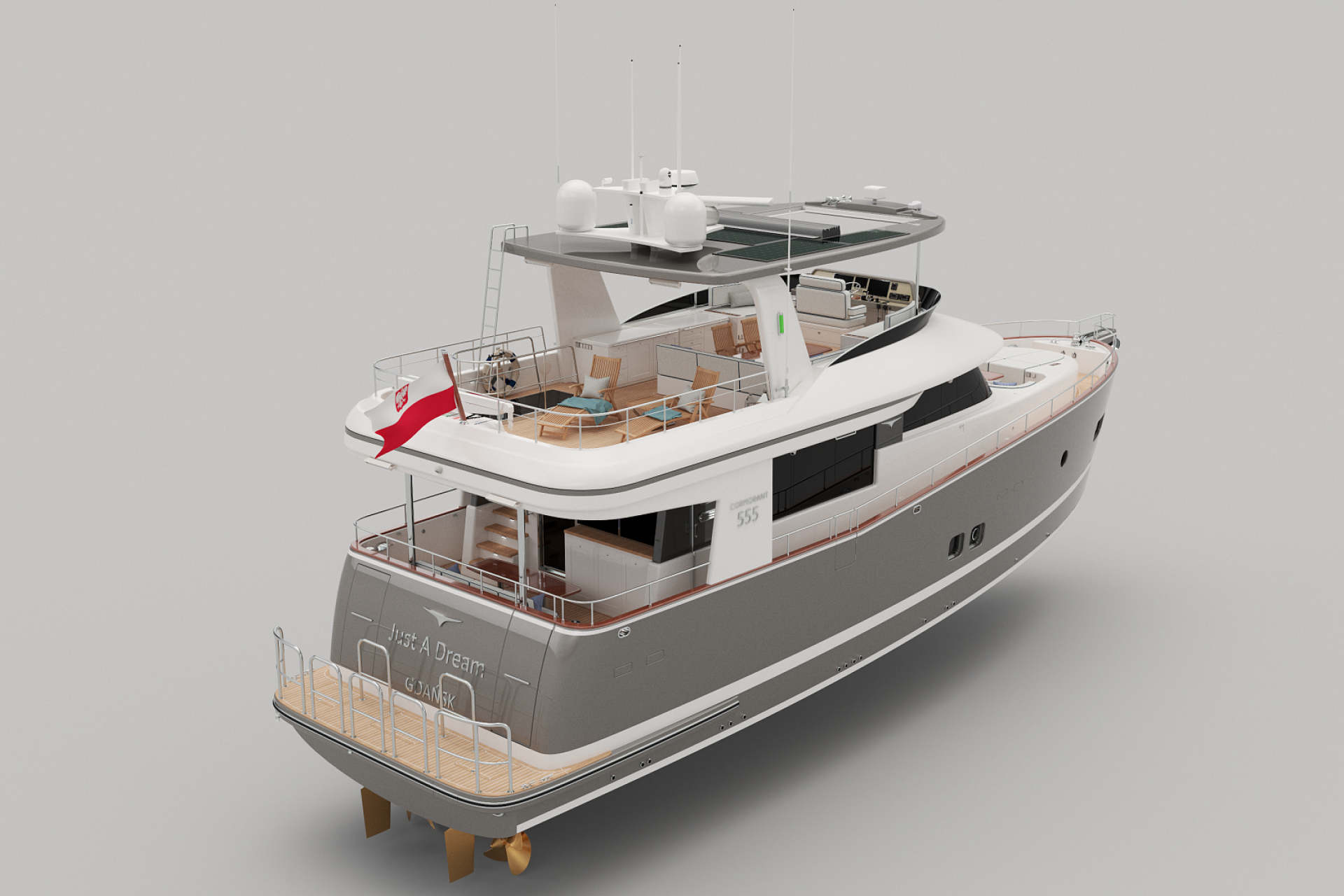 COR555 Aft/Starboard side