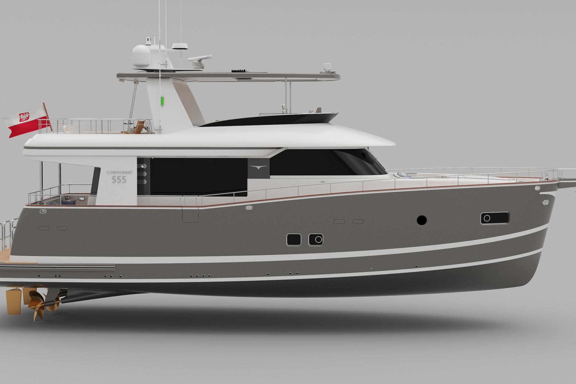 COR555 Starboard side