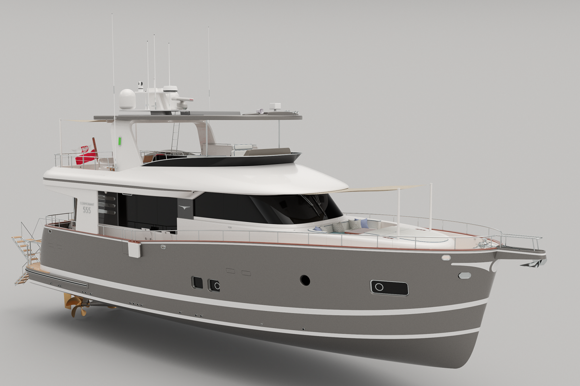 COR555 Bow / Starboard side